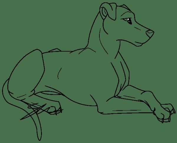 Dessin de chien - Dessin chien facile ...