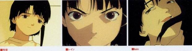Serial Experiments Lain Review the 3 lains