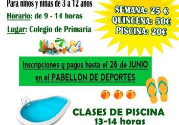 Escuela Municipal de Verano de LIBRILLA