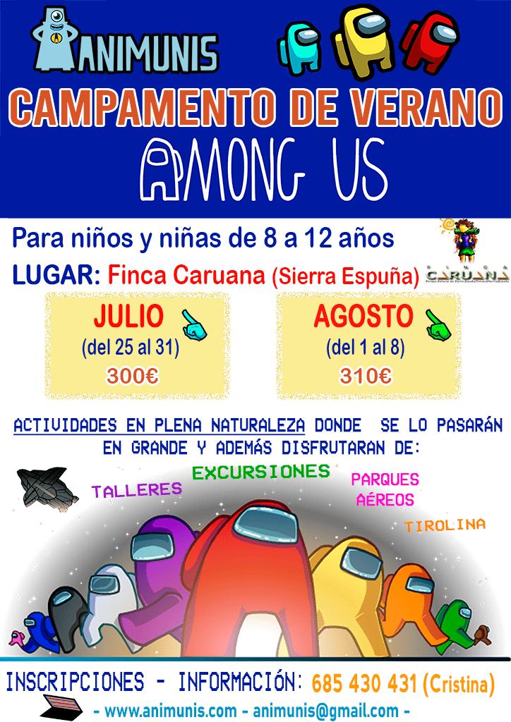 Campamento AMONG US