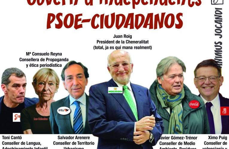 Govern d'independents PSOE-Ciudadanos