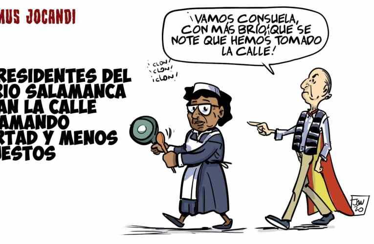 EL BARRIO DE SALAMANCA SALE A LA CALLE