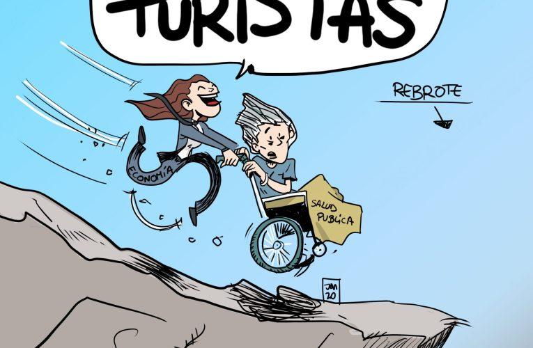 El rebrote del turismo.