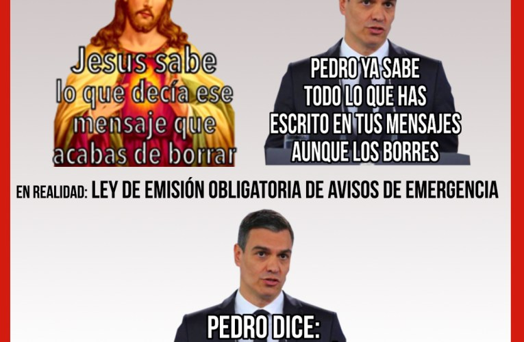 Nuevos «Sticker» de Pedro Sánchez.
