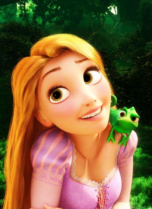Nice Girl Wallpaper Pic Rapunzel Animviex