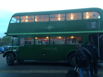 Epping Green Routemaster bus