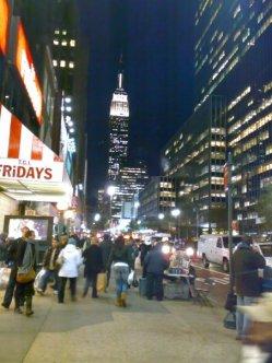 Empire State Night Lights