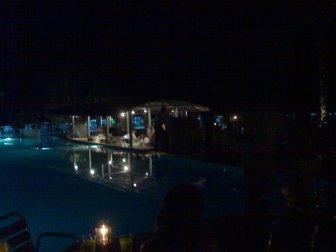 Pool Turkey Hotel Night Time