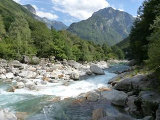 verzasca river