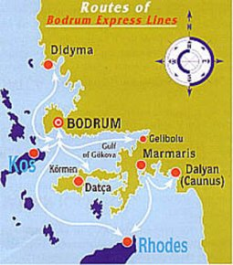 Bodrum Express Lines Ferry