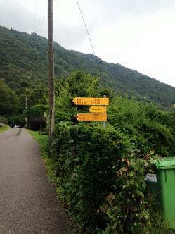 Locarno Walk Sign