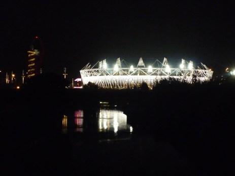 Lights London Olympic Stadium