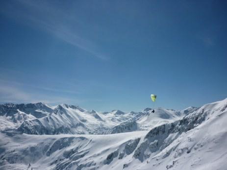 ski paragliding bulgaria