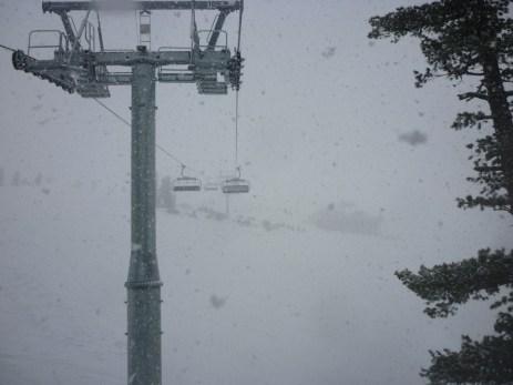 Snowing Bansko
