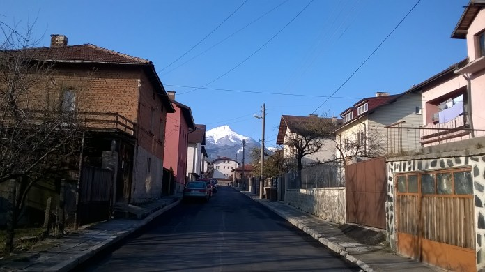 Moutain View From Street Bansko
