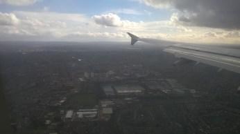 Landing London Heathrow