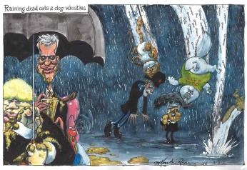 Guardian Cartoon - Major Campaign Islamaphobic