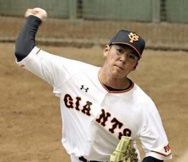 篠原慎平は高校中退から不死鳥の如く読売巨人軍へ!異色の野球経歴とは?