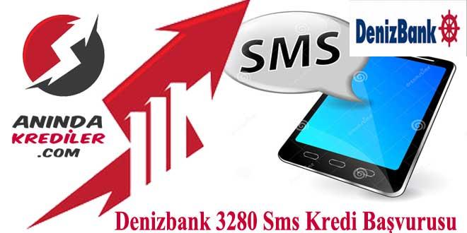 Denizbank 3280 Sms Kredi Başvurusu