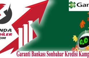 Garanti Bankası Sonbahar Kredisi