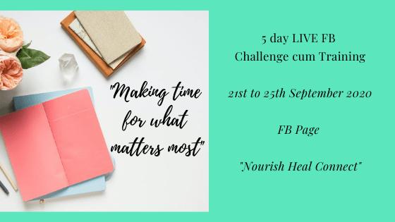 5 day FB challenge Sept 2020