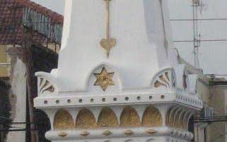 Gambar yang disinyalir Star of David