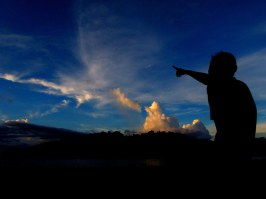 """""""Prayer is the key of the morning and the bolt of the evening"""". Mahatma Gandhi. (Iboih, Sabang)"""