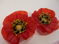 Vellum Poppy, Flower of the Month, An Inkin' Stampede, Darlene Plotinski
