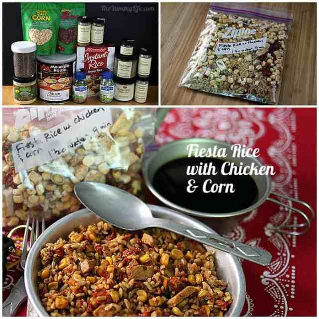 Instant Meals-On-The-Go | Fiesta Rice with Corn & Chicken. Just add boiling water! from TheYummyLife.com
