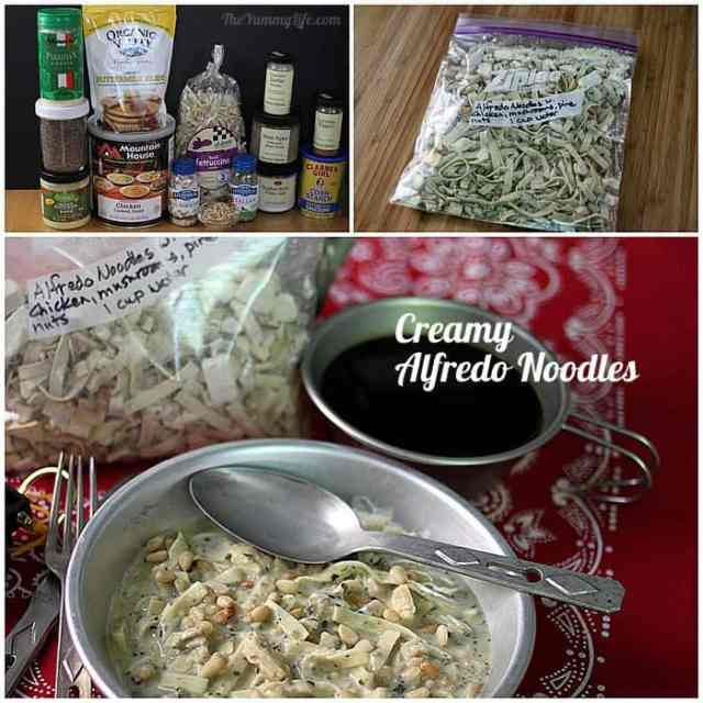 Instant Meals-On-The-Go | Alfredo Noodles. Just add boiling water! from TheYummyLife.com