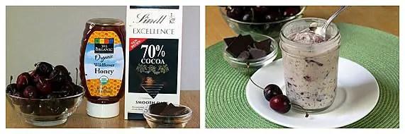 Cherry Chocolate Chunk Refrigerator Oatmeal