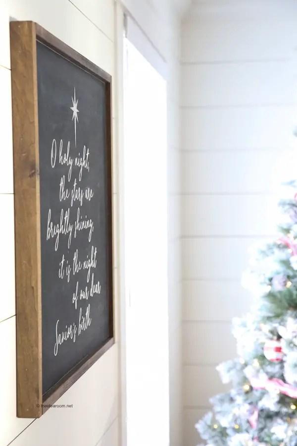 DIY-Oh-Holy-Night-Farmhouse-Christmas-Sign-Tutorial-Cricut-Maker