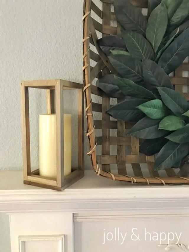 Fixer Upper inspired DIY lantern