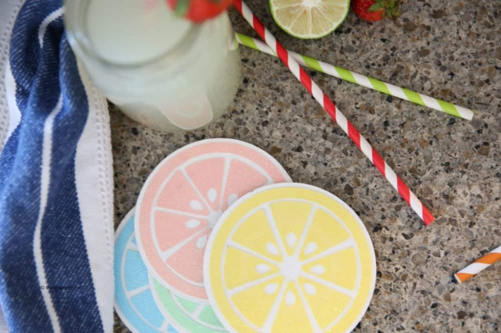 DIY Coasters with Cricut Maker Knife Blade and HSN Launch