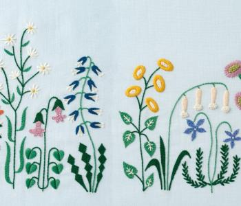 DIY Floral & Cactus Embroidery Projects from A Year of Embroidery
