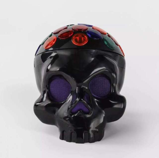 Animated LED Rotating Skull Halloween Projector