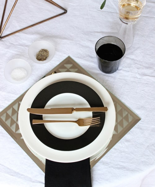 diy mirror placemat d