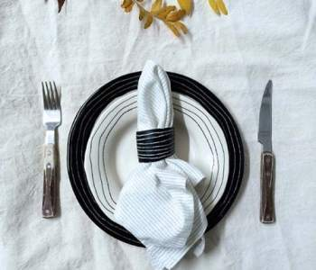 Thanksgiving DIY Project: Clay Napkin Rings from BTW Ceramics