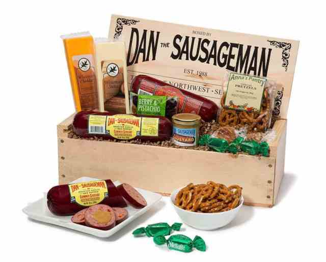 Best Christmas Gift Baskets 2019: Dan the Sausage Man 2020