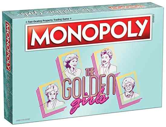 Best Gifts For Sisters 2019: Funny Golden Girls Monopoly Game 2020