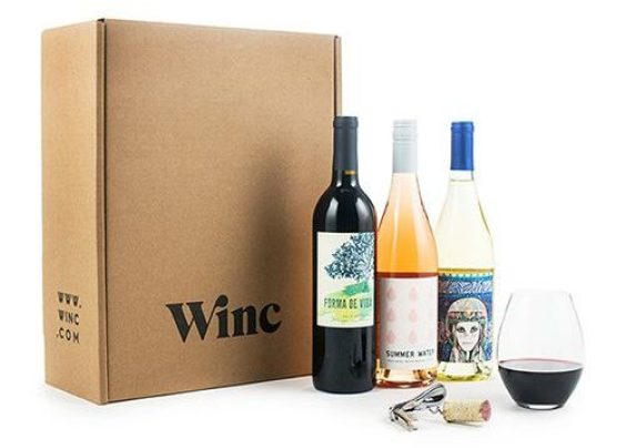 Last Minute Christmas Gifts 2019: Winc Subscription 2020