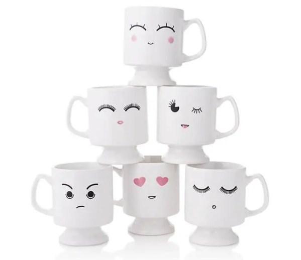 Christmas Ideas for Teenager 2019: Emoji Mugs 2020