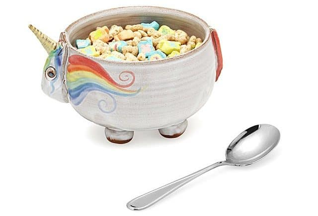 Christmas Gifts for Tweens 2019: Unicorn Cereal Ice Cream Bowl 2020