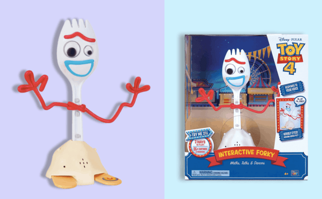 New Toys 2019: Interactive Forky Toy Story 4