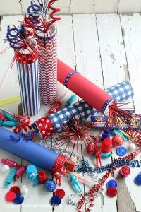 4th of July Party Ideas: Firecracker Favors