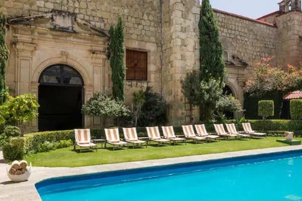 pool at Quinta Real Oaxaca