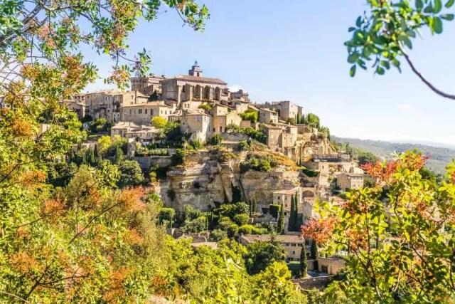 the hilltop village of Gordes, Provence, France