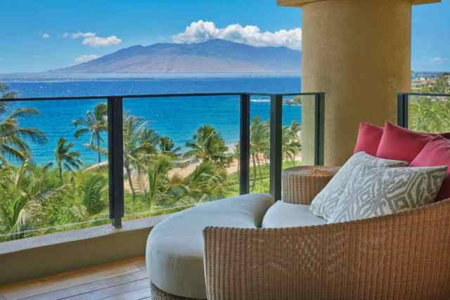 Four Seasons Maui balcony