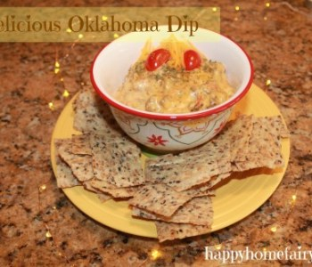 Oklahoma Dip- A Real Quick Recipe for Thanksgiving, Christmas, New Year's Eve or any Party