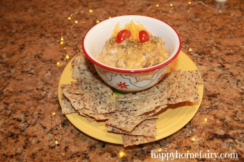 delicious Oklahoma Dip at happyhomefairy.com - perfect for New Year's Eve!